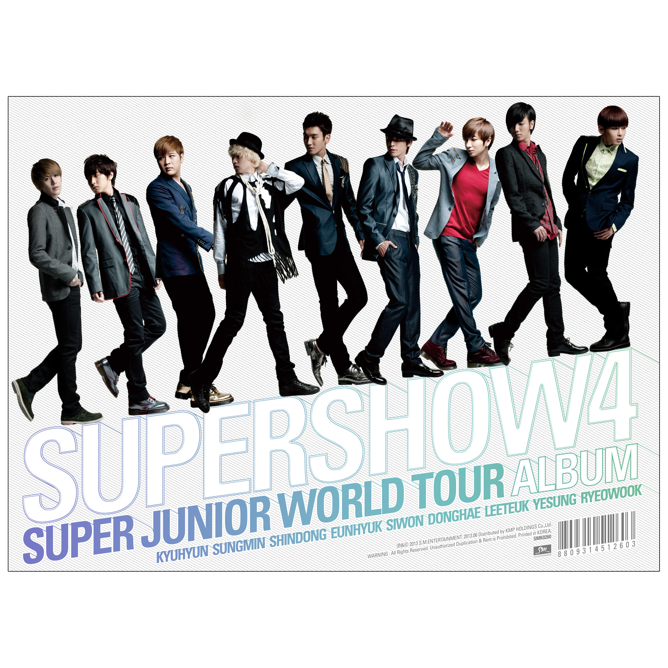 Super Junior World Tour 'Super Show 4' 앨범정보
